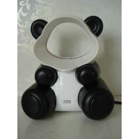 "Wholesale Fashion design panda USB bladeless Electric speaker fan without leaf 6"" 5V 2W from china suppliers"