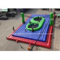Wholesale Super Interactive Inflatable Bossaball Field For Outdoor Sports from china suppliers