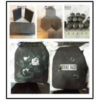 Wholesale Ballistic Plates Utilise Materials Such As Boron / Silicon Carbide Bulletproof Plates from china suppliers