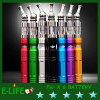 Wholesale colorful for choose e cig X6 Voltage Variable Function  battery life with ovre 300times from china suppliers