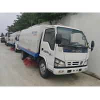 Wholesale factory sale cheaper price ISUZU street sweeping vehicle, hot sale best price ISUZU 4*2 LHD road sweeper truck from china suppliers