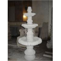 Wholesale White Granite Fountain Sculpture, Exquisite Garden Sculpture from china suppliers