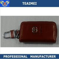 Wholesale Multifunctional Toyota Key Chain Wallet , Genuine Leather Key Holder Pouch from china suppliers