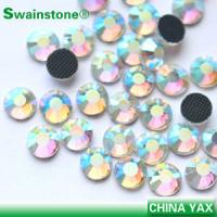 Quality crystal AB hot fix rhinestone;hot fix rhinestone crystal AB;AB hot fix crystal rhinestone for sale