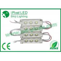 Wholesale Super Brightness DC12V 3pcs 5050 smd LED module Light Waterproof IP66 from china suppliers