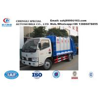 Wholesale High quality and low price dongfeng 5m3 garbage compactor truck for sale, HOT SALE! dongfeng 5m3 compacted garbage truck from china suppliers