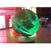 Wholesale Sphere Led Video Panels Diameter 1500mm , Global LED Video Ball For Event from china suppliers