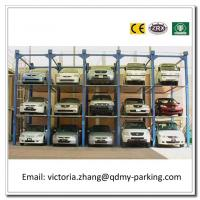Wholesale PJS Fourfold Level Mechanical Hydraulic System Car Stack Muti Levels Car Stacking System from china suppliers