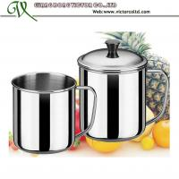 Buy cheap Wholesales Stainless steel cup travel mug customize 7cm 8cm 9cm 10cm 11cm 12cm 13cm 14cm durable handle single layer from wholesalers