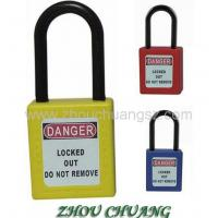 Quality New product with High Quality Keyed Alike Long Shackle Safety Padlock for sale