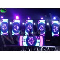 Wholesale Bar Stage DJ 1R1G1B Video 3d led screen Display P5 waterproof in 3G Magic from china suppliers