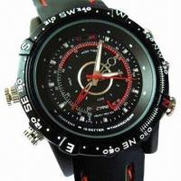 Wholesale Waterproof HD Watch Camera, Audio Recording with 5MP CMOS from china suppliers