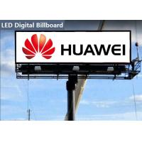 Wholesale Professional outdoor led billboard advertising Consulting RGB Chip With Iron Cabinet from china suppliers