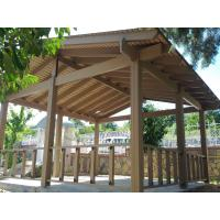 Wholesale Renewable sources wpc cheap pergola modern pergola wood pergola 4m*4m from china suppliers