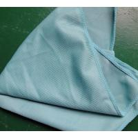 Wholesale 40 * 40cm 260gsm Microfiber Glass Cleaning Cloth Green Thick Fashinable Soft from china suppliers