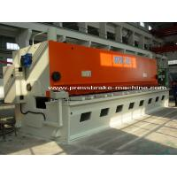 Wholesale Hand Hydraulic Guillotine Shear , Guillotine Metal Cutting Machine from china suppliers