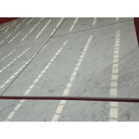 Quality White Cararra Marble Laminated Tiles/Composite Marble Tiles/White Marble Tiles for sale