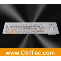 Wholesale metal keyboard with trackball for information kiosk, internet kiosk from china suppliers