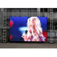 Quality Waterproof 5000cd Rental Led Display Portable Video Wall High Resolution P4.81 for sale
