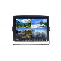 Wholesale Quad Monitor 9 Inch With Recorder Function With 4 - Pin Connector And 4 Way Video Input from china suppliers