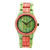 Wholesale Green Orange Bamboo Watches For Men And Women ,  Japanese Quartz Movement from china suppliers