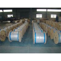 Wholesale Water Resistance Galvanized Steel Wire Cable , Stranded Steel Wire 100 Kgs-300 Kgs Packing from china suppliers