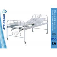 Wholesale Double Crank Controlled Backrest Manual Medical Hospital Beds With ISO from china suppliers