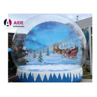 Wholesale 5M Air Snow globes Inflatable Holiday Decor Fun Place take Photo with family Show from china suppliers