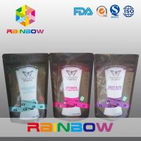 Wholesale Food Grade Reusable 150g Zipper Stand Up Pouches for Energy Powder from china suppliers