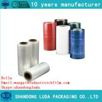 Wholesale Clear Plastic PE Stretch Film for pallet wraping luggage wrapping with good price from china suppliers