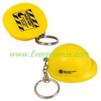 China Hard Hat Stress Reliever Key Chain on sale