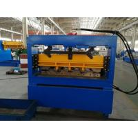 Wholesale 0.8 - 1.2mm thickness Hydraulic Cutting Floor Deck Roll Forming Machine For Color Galvanized Steel Sheet from china suppliers