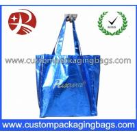 Wholesale Biodegradable Soft Flex-loop Carrier  Die Cut Handle Plastic Bag with Punch Hole from china suppliers