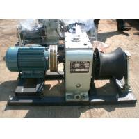 Wholesale Supply 5 Ton Electric Cable Winch Hoist for Power Construction 4KW from china suppliers