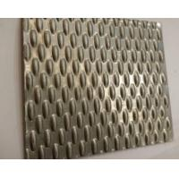 Buy cheap 304 316 Embossed Metal Sheet Decorative Stainless Steel Sheet for Elevator Ceiling Panel from wholesalers