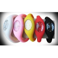 Wholesale Anion Silicone Quartz Movement Waterproof Sport Rubber Colorful Ice Silicone Watches from china suppliers