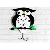 Wholesale Owl Animal Creative Wall Clocks Bedroom Alarm Wall Clock Battery Operated from china suppliers