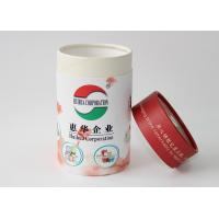 Wholesale Light weight Round Cardboard storage cylinder Tubes Food Packaging , paper tea cans from china suppliers