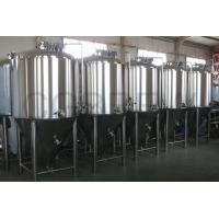 Buy cheap 1000L food grade stainless steel fermentation tanks mirror polished for beer brewing in hotel and brewery from wholesalers