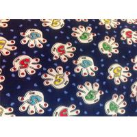 Wholesale Blue Polyester Floral Custom Printed Fabrics Tear Proof Customized from china suppliers