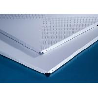 Perforated 600x600MM Clipped Ceiling Demountable Anti Magnetic Sterile