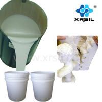 Quality RTV silicone rubber for gypsum mold making/ smooth on similar silicone rubber for sale