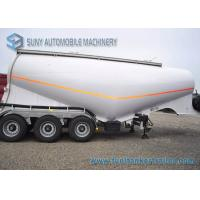 Wholesale 3 Wheel Dry Bulk Tank Trailer 34 M3 Semi Tanker Trailers 34 KL from china suppliers