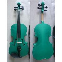 Wholesale Blue / Brown Classic Student Handmade Violin 1/8 Size With Ebonized Fingerboard AGV-1 from china suppliers