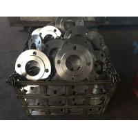 Buy cheap GOST 12820-80 Plate Flange DN100-600 PN10-16 Stainless Steel 12X18H10T from wholesalers