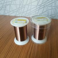 Buy cheap Solderability Enameled Round Copper Wire Uew Insulation 155 0.01mm Iso9001 from wholesalers