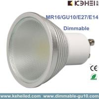 Quality 5W Dimmable GU10 LED spot lights with 326lm cool white For Show Case Lighting for sale