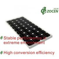 Buy cheap Safety Mono Solar Panels 105w Eco-friendly With Mc4 Solar Connector from wholesalers
