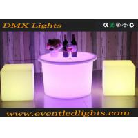 Wholesale Eco - Friendly Plastic Led Bar Table , night club led bar counter CE ROHS UL from china suppliers
