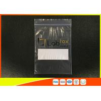 Wholesale Damp - Proof Clear Plastic Poly Industrial Ziplock Bags For Electronic Products from china suppliers